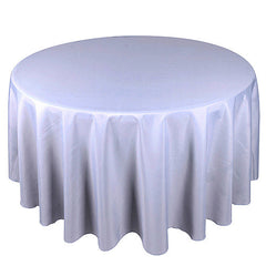 70 Inch Round Poly Tablecloths