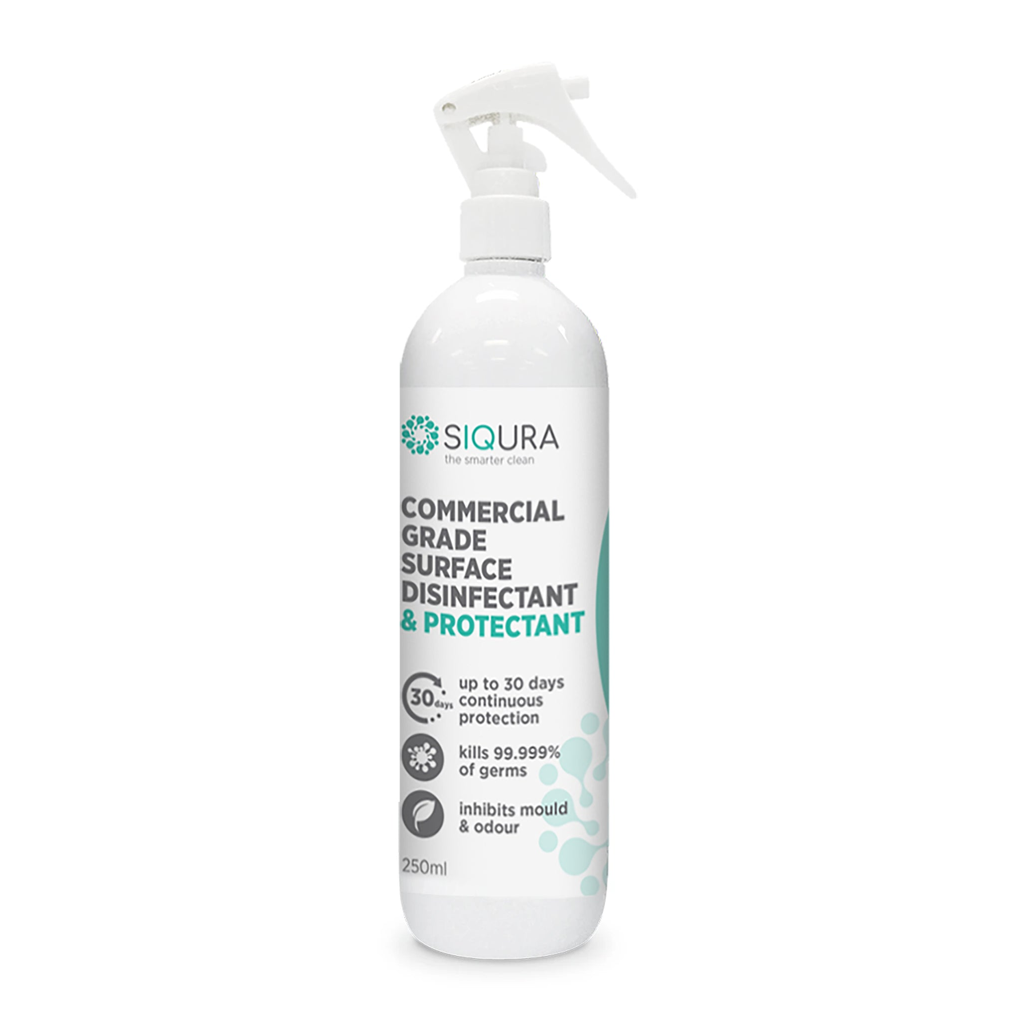 Siqura Commercial Grade - 30 Days Surface Disinfectant and Protectant - (250/500ml)