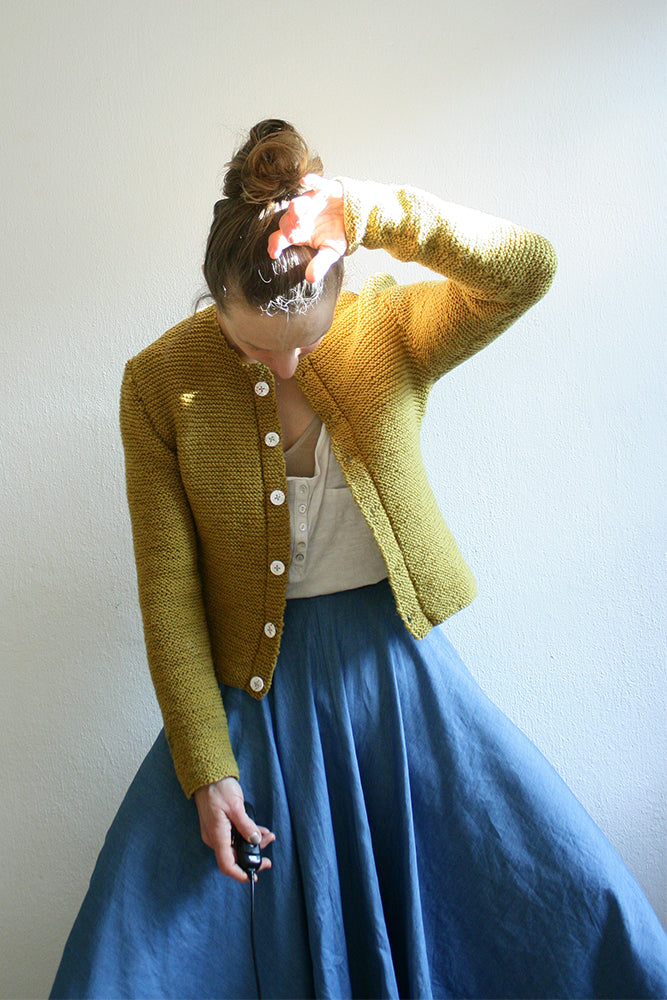 "Knitting Pattern Cardigan ""Ambling Alp"""