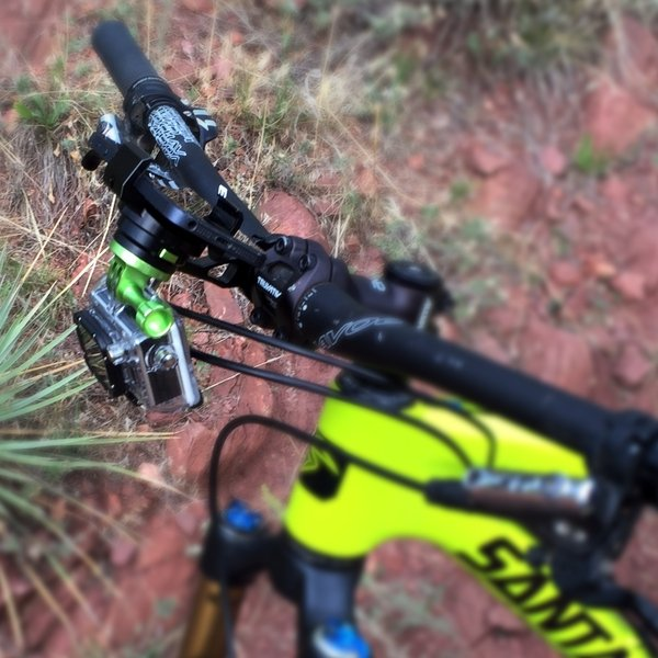 Below Handlebars GoPro Adapter - MYGOFLIGHT