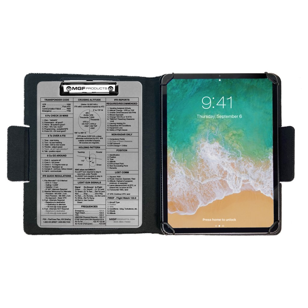 iPad Universal Kneeboard Folio C - MYGOFLIGHT