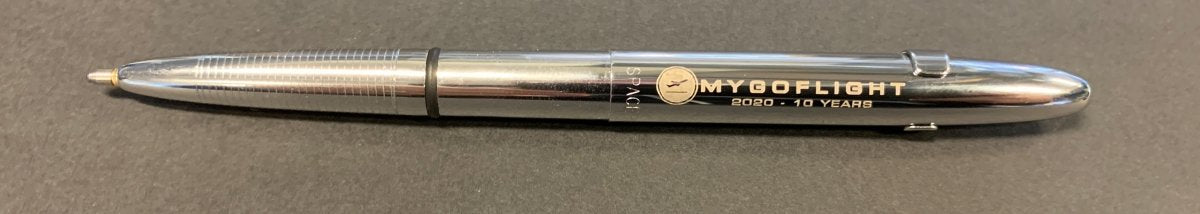 MGF Bullet Space Pen - MYGOFLIGHT