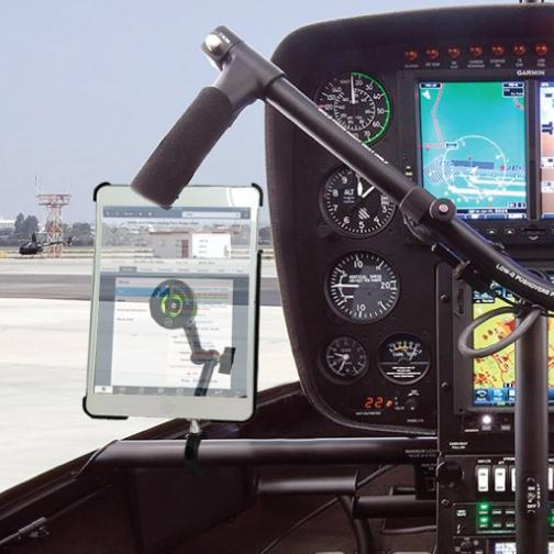 Robinson Helicopter Console Bar Mount - MYGOFLIGHT