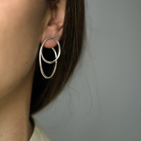 LARGE ORBIT EARRING
