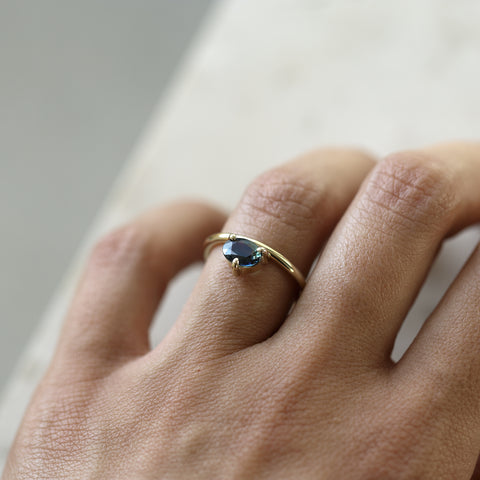 BICOLOR SAPPHIRE BOLD RING