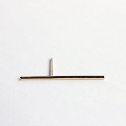 GOLD THIN LINE EARRING