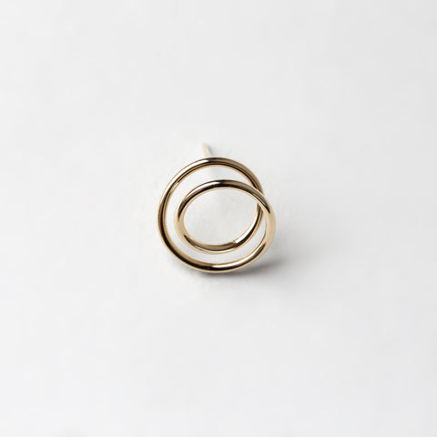 SMALL ORBIT EARRING