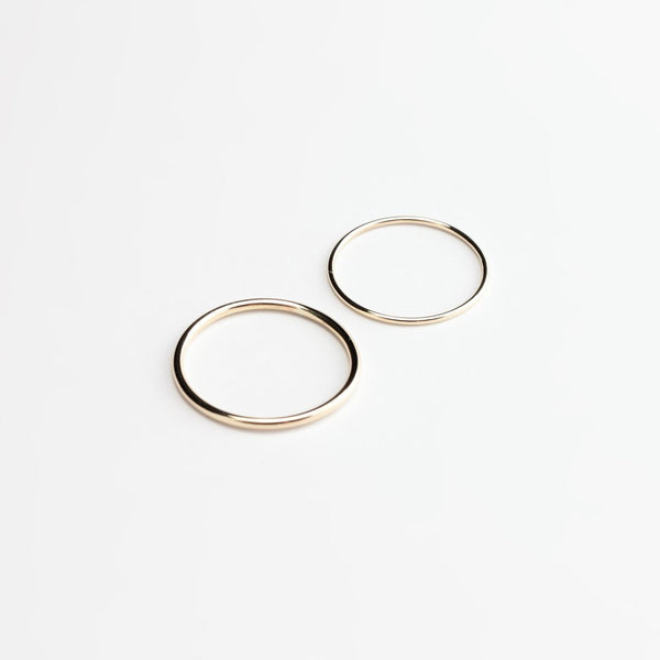 ESSENTIAL ROUND BAND GOLD RING