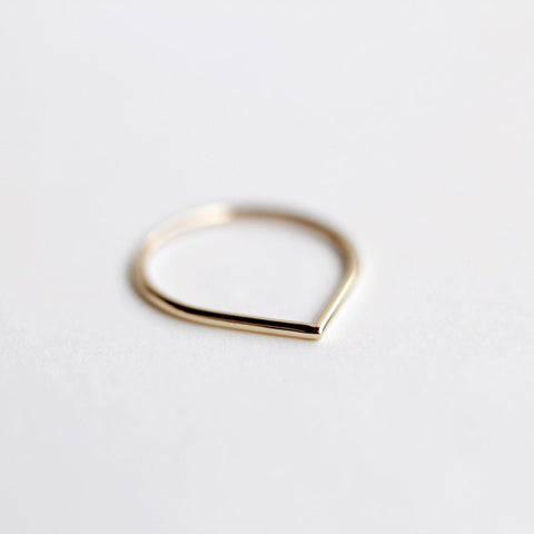 GOLD THORN RING