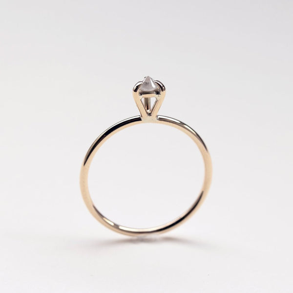 GOLD EYE 02 DIAMOND RING - MIRTA jewelry