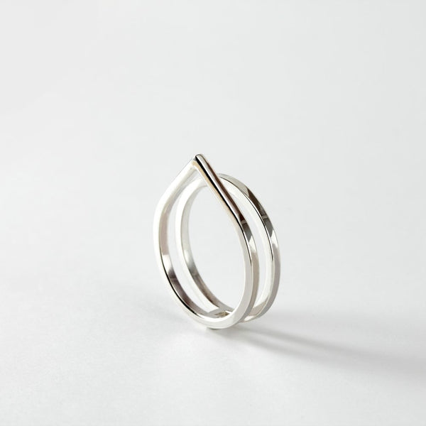 PAIRED RING - MIRTA jewelry