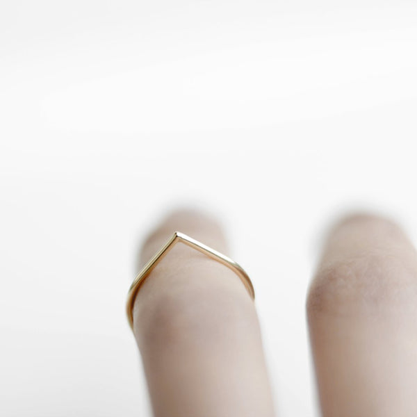 GOLD THORN RING - MIRTA jewelry