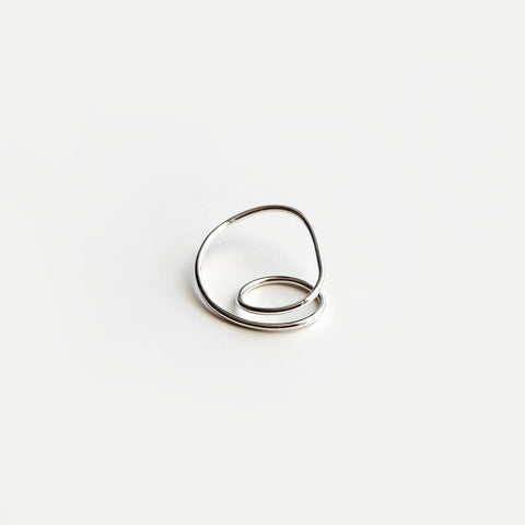 ORBIT DOUBLE FINGER RING