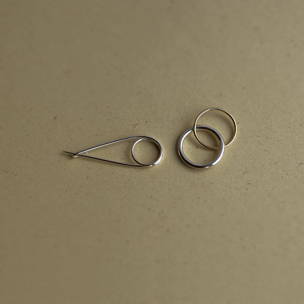 SAFETY PIN BROOCH - MIRTA jewelry