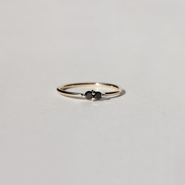 PAIRED DIAMOND RING