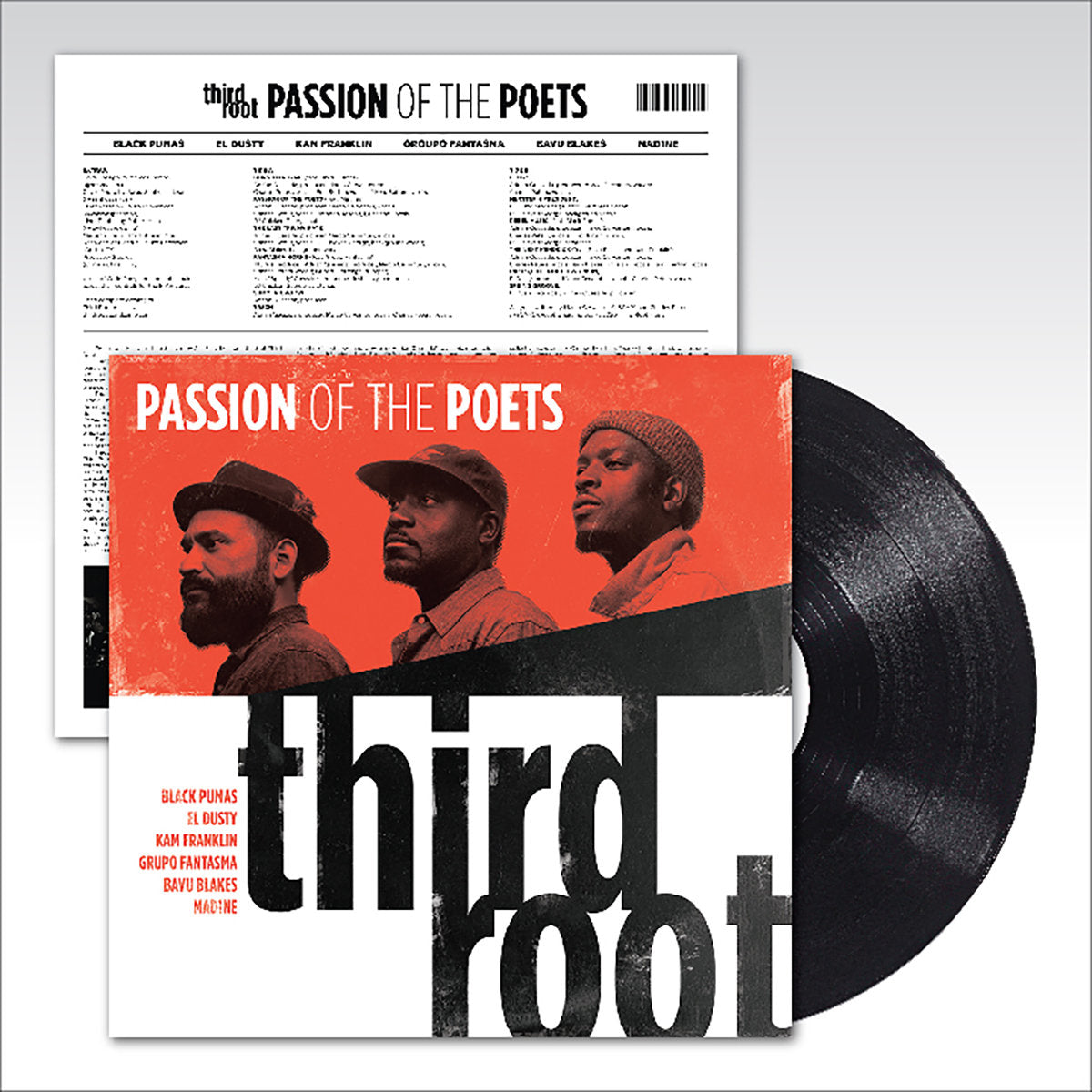 Third Root Passion of the Poets Vinyl