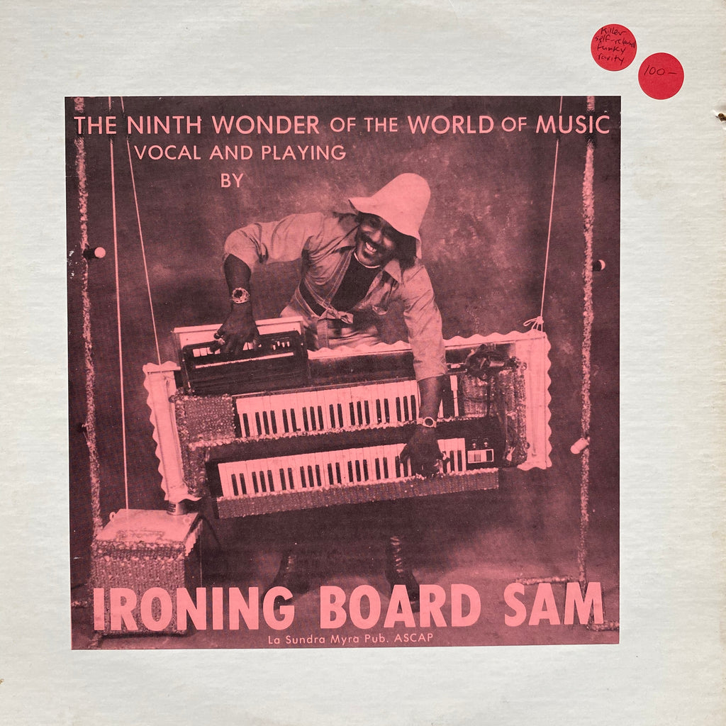 Ironing Board Sam The Ninth Wonder of the World of Music Vinyl