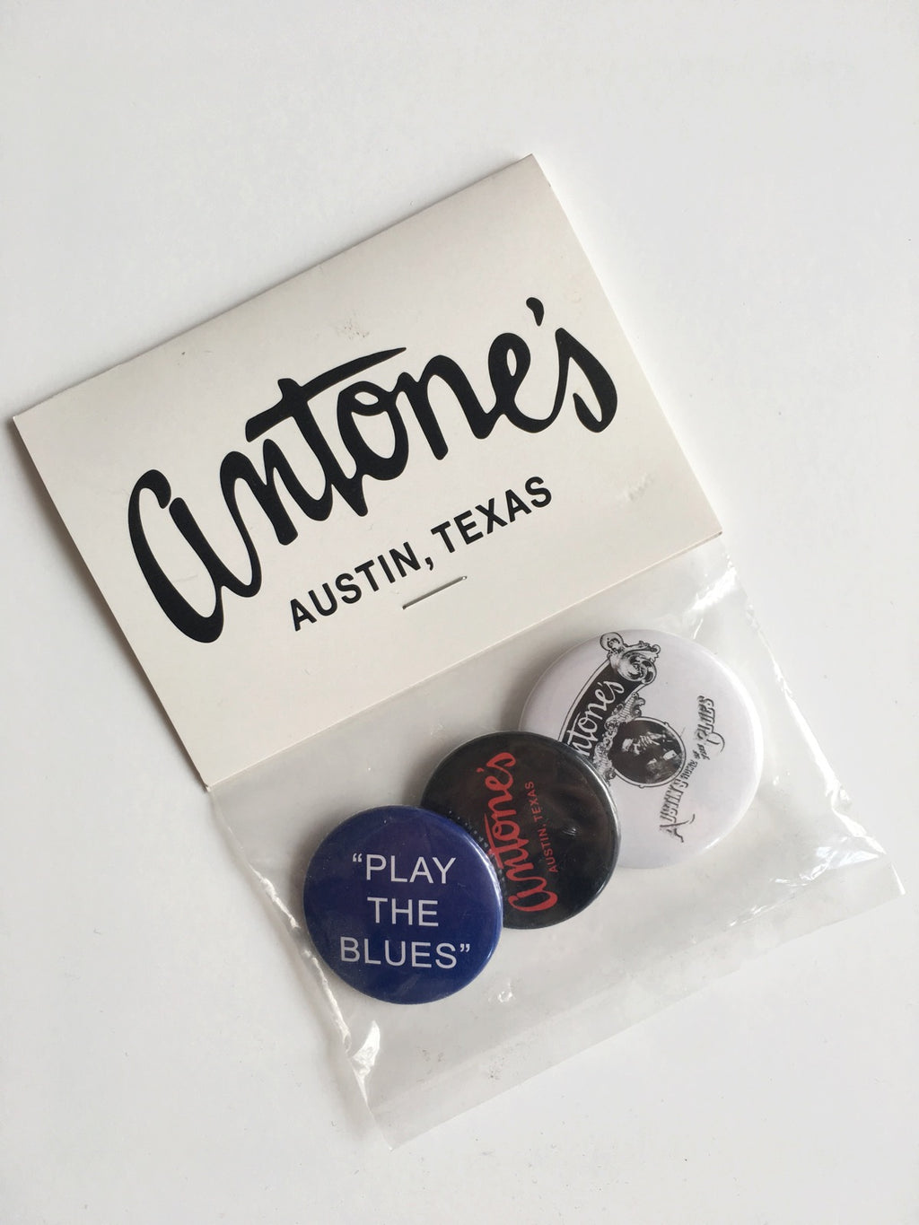 Antone's Button 3 Pack