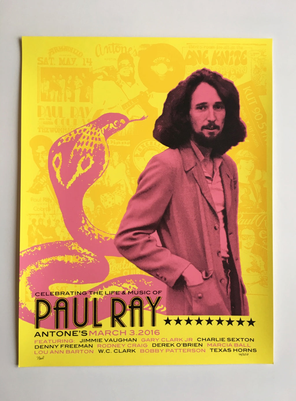Paul Ray Poster