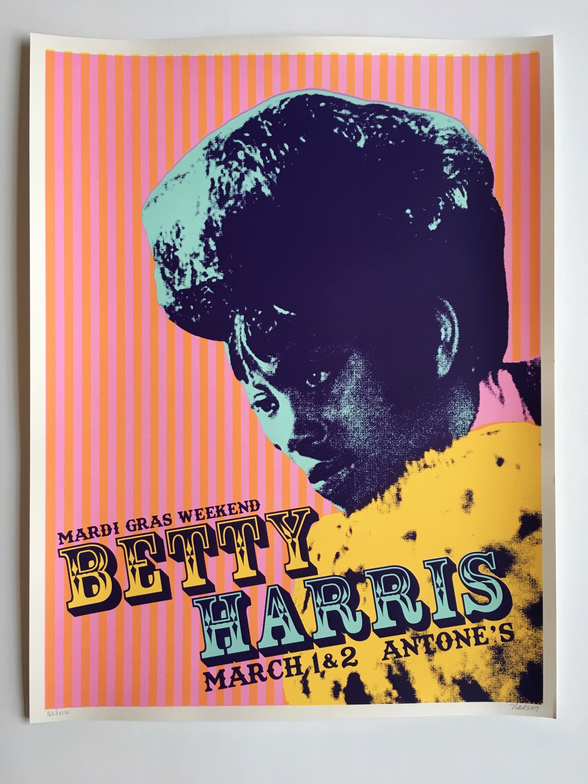 Betty Harris Poster