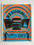 B3 Summit Poster (2016) Poster