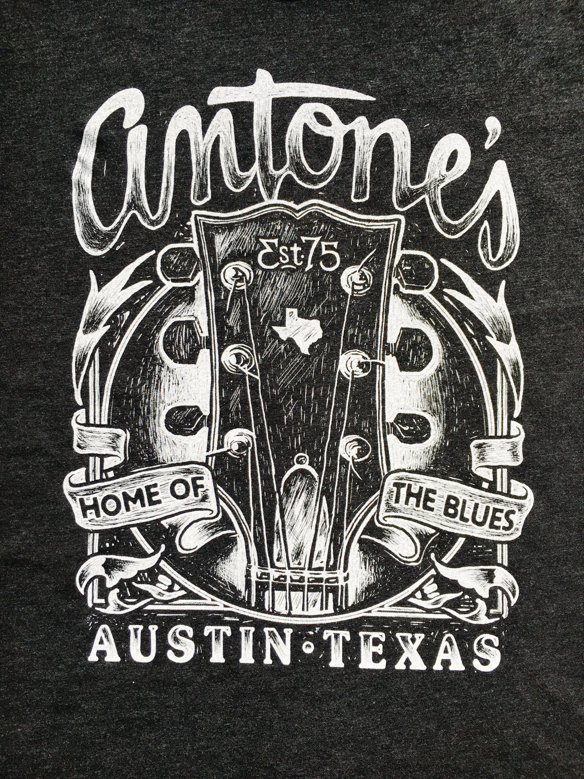 Antone's Headstock Shirt