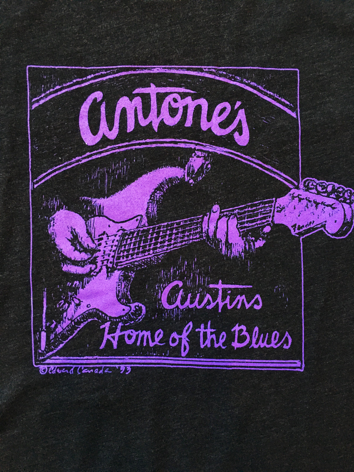 Purple Guitar Logo Shirt