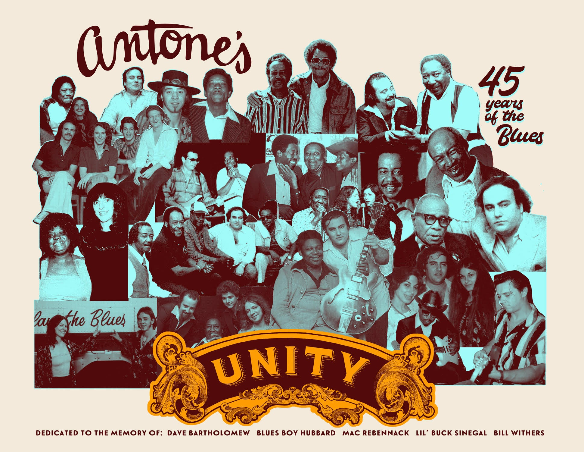 """Unity"" Antone's 45th Anniversary Commemorative Poster"