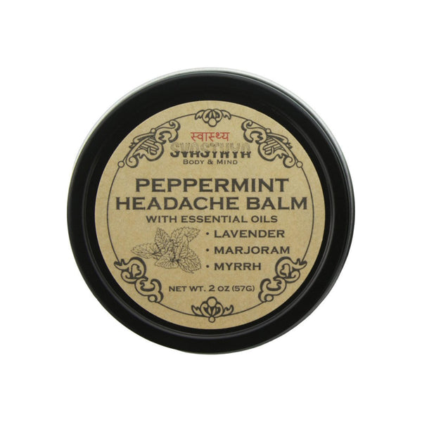 Svasthya Body & Mind Peppermint Headache Balm