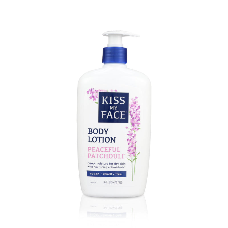 Kiss My Face Patchouli Moisturizer Body Lotion 16oz, 1pc