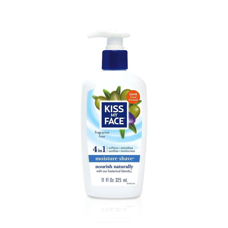 Kiss My Face Fragrance FREE Moisture Shave