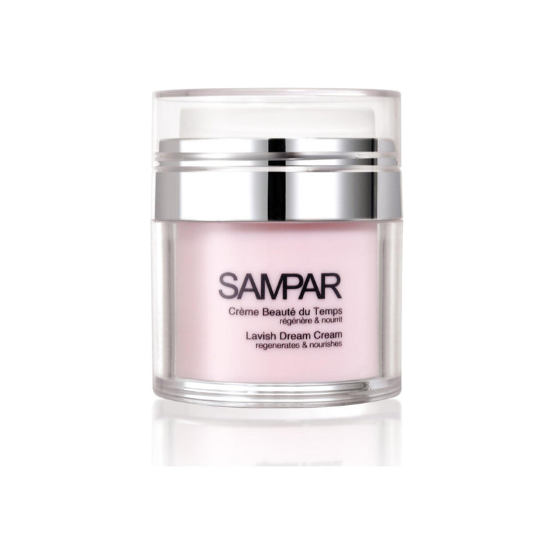 SAMPAR - Lavish Dream Cream - Day & Night Reparative Cream, Reduces Wrinkles and Expression Lines - For Mature Skin - Cruelty-Free Beauty Made In Paris (1.7 oz)