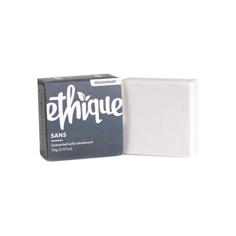 Ethique Sans Unscented Solid Deodorant