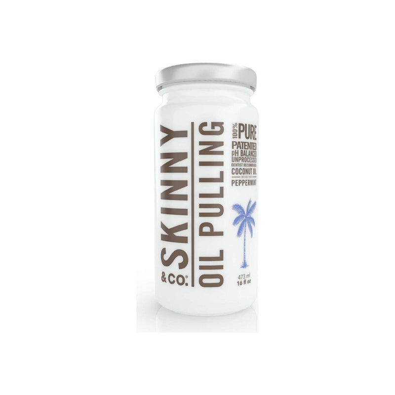 SKINNY & CO. Peppermint Oil Pulling