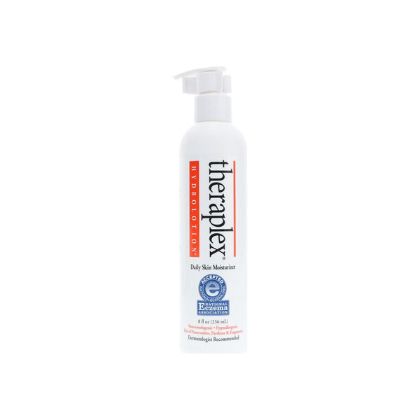 Theraplex Hydro Lotion Daily Skin Maintenance and Dry Skin Protection 8oz