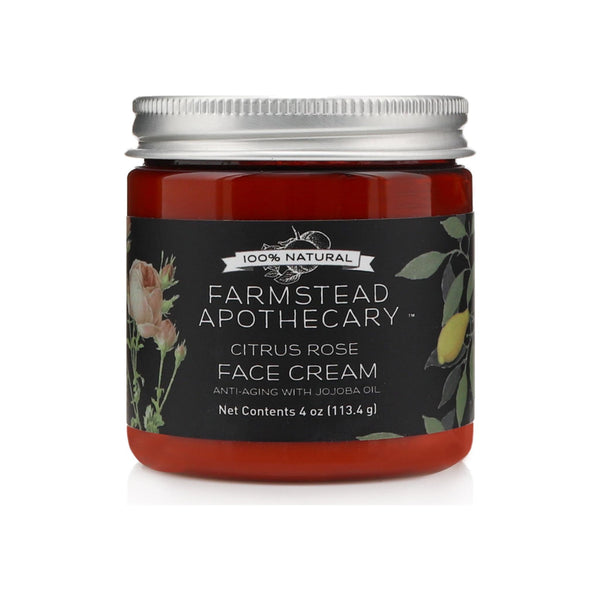 Farmstead Apothecary Citrus Rose Face Cream Jojoba Oil
