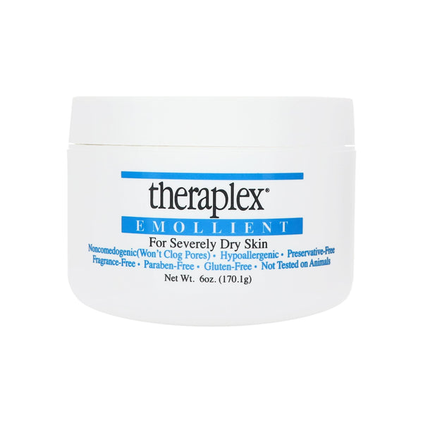 Theraplex Emollient - For Severely Dry Skin, No Parabens or Preservatives 6 oz