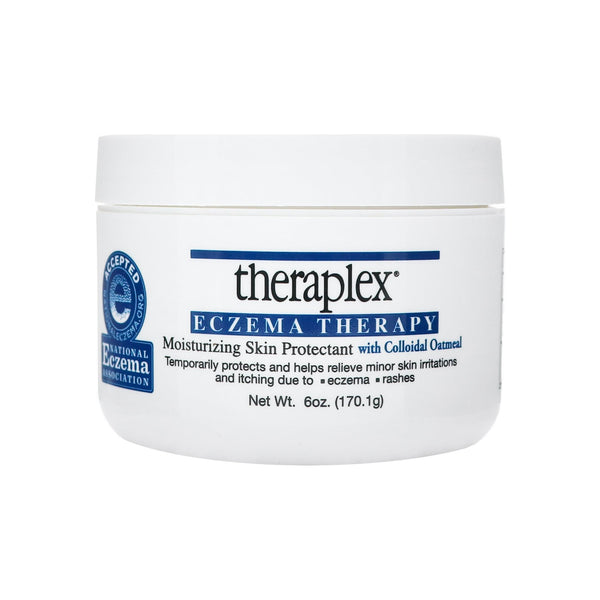Theraplex Eczema Therapy - Moisturizing Skin Protectant with Natural Colloidal Oatmeal 6 oz