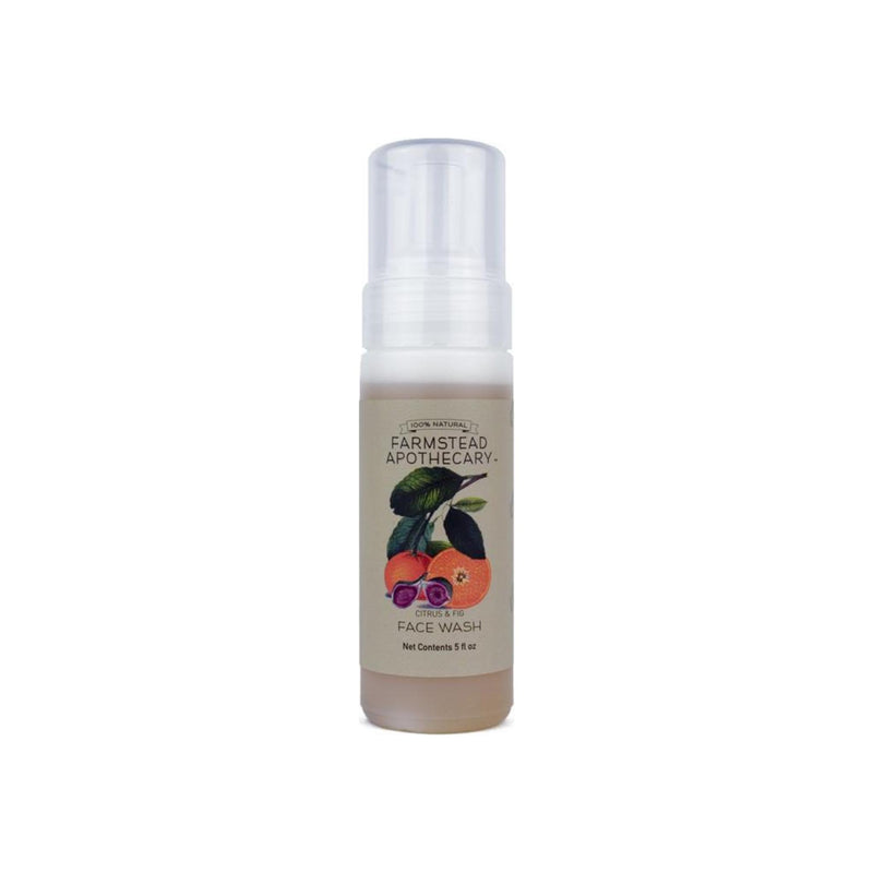 Farmstead Apothecary Citrus & Fig Foaming Face Wash