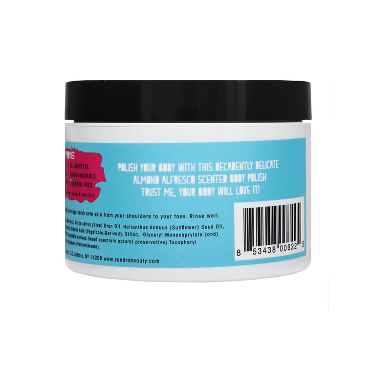 Zandra Almond Alfresco Exfoliating Sugar Scrub