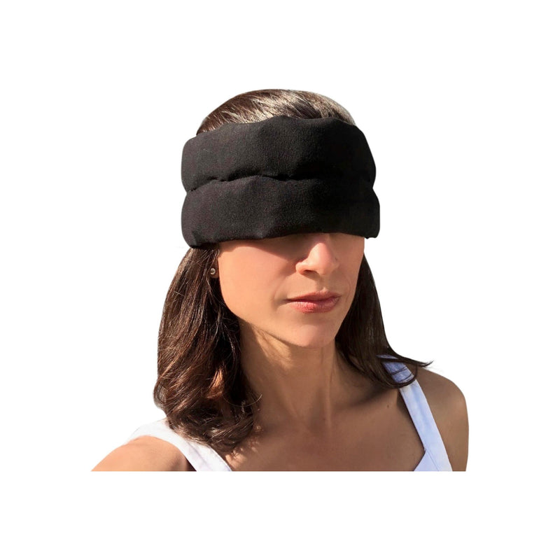 Headache Hat Halo - wearable ice pack for migraines and tension headaches