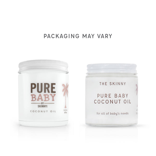 SKINNY & CO. Pure Baby Coconut Oil
