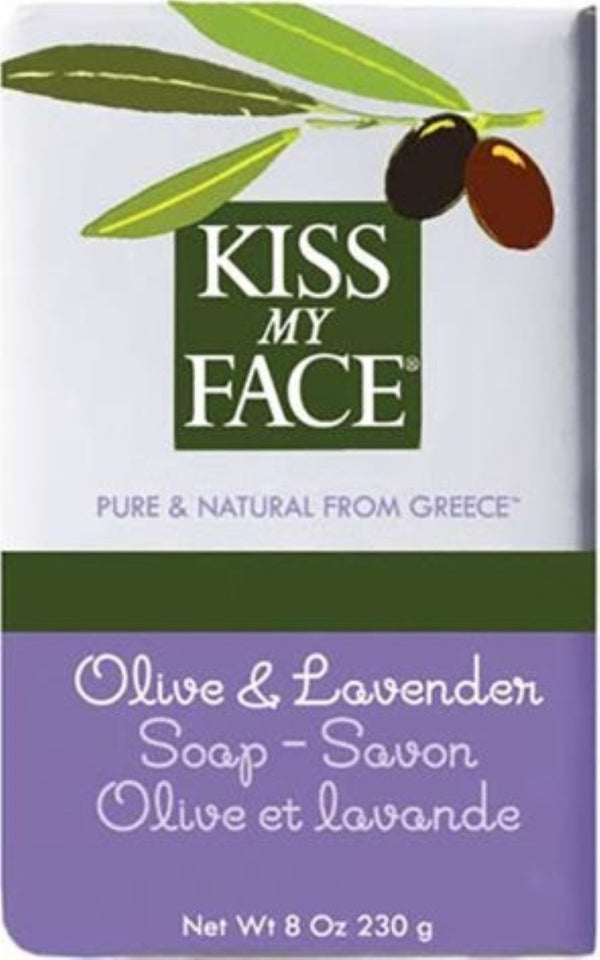 Kiss My Face Olive Oil & Lavender Bar Soap