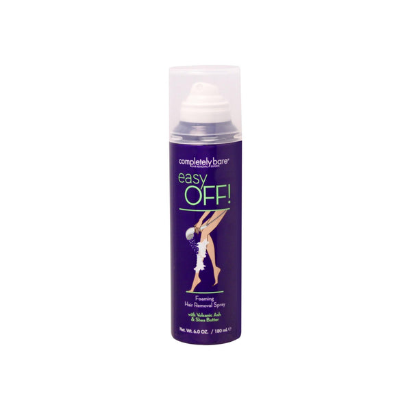 Completely Bare Easy OFF!  Foaming Hair Removal Spray 6 oz [854357003661]