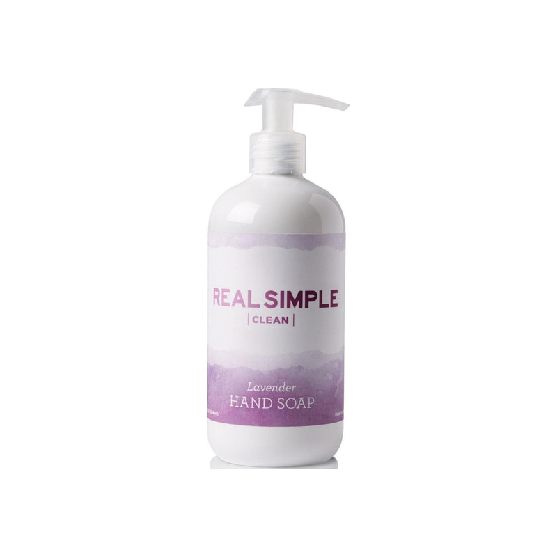 Real Simple Clean Hand Soap, Lavender 12 oz [853103006369]