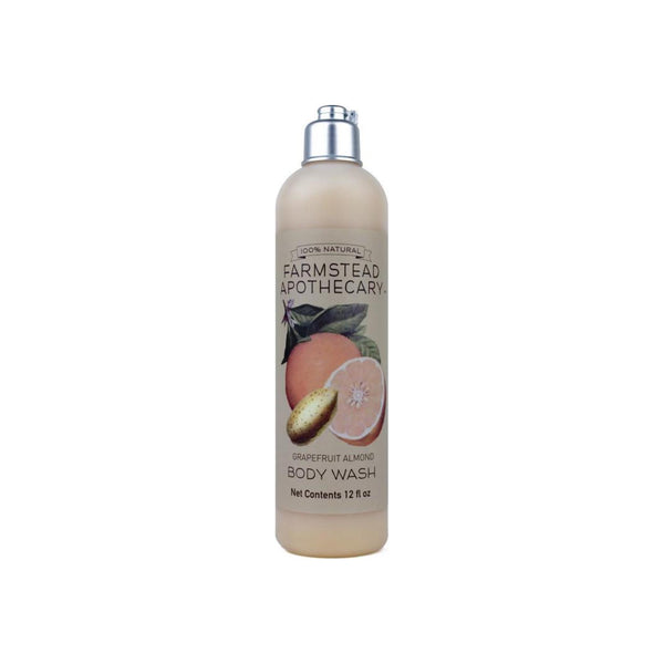 Farmstead Apothecary Grapefruit Almond Body Wash