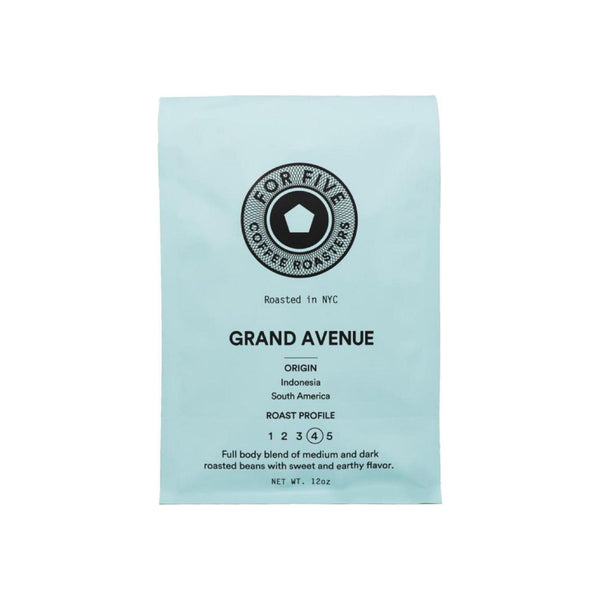 For Five Coffee Roasters Grand Ave Roast Ground Dark Roast