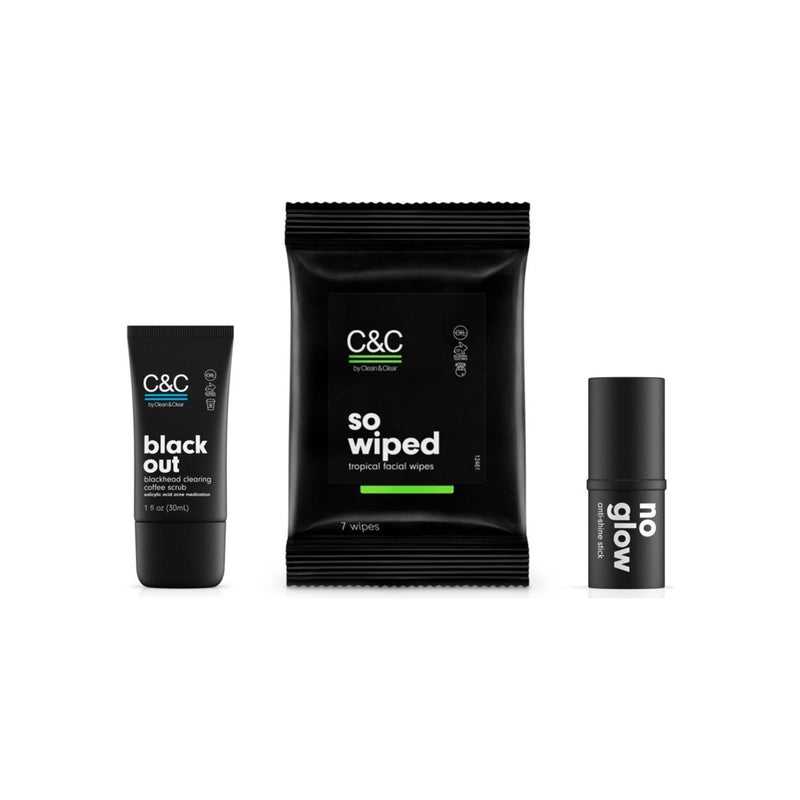 C&C by Clean & Clear Travel Size Pack
