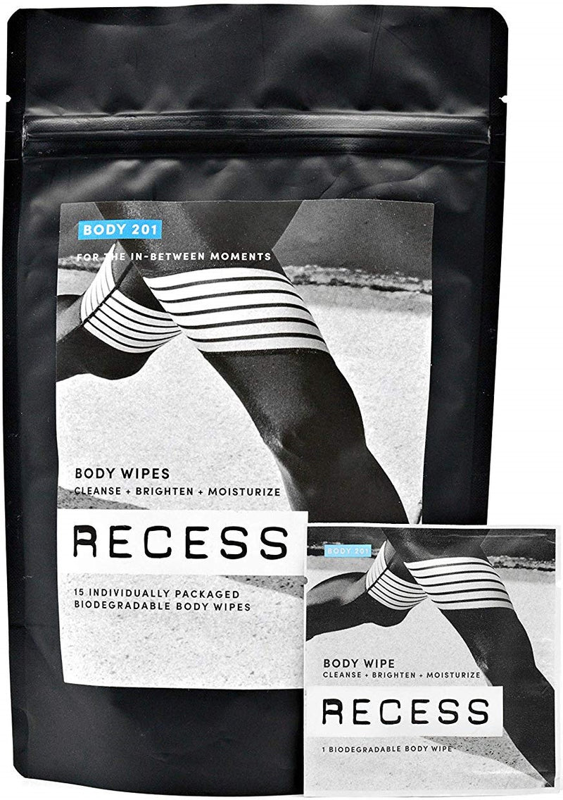 Recess Body 201: Body Wipes