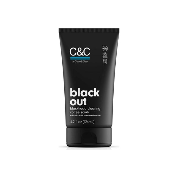 C&C by Clean & Clear black out blackhead clearing coffee scrub